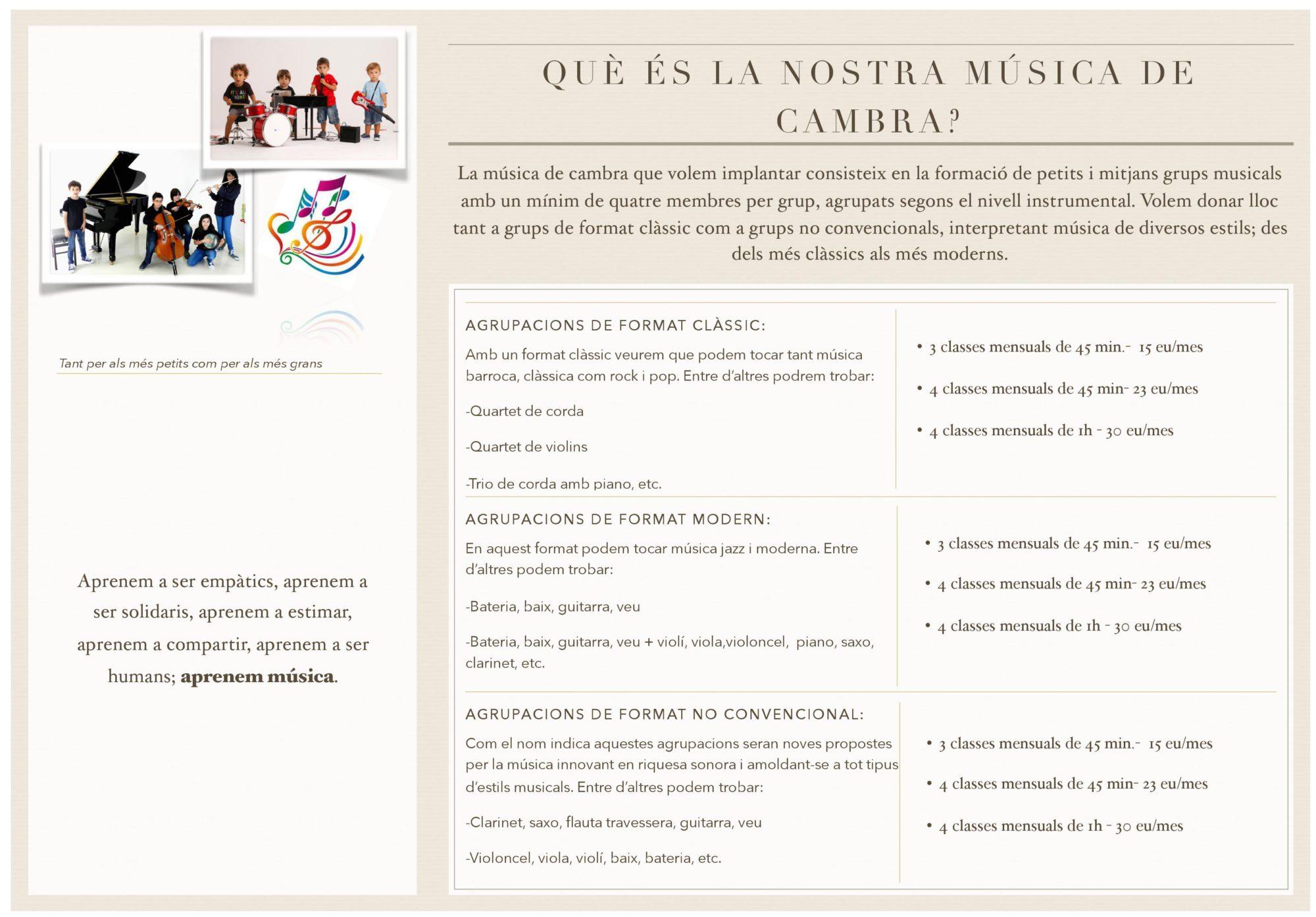 Espai Musical de Terrassa, l'ESMUT
